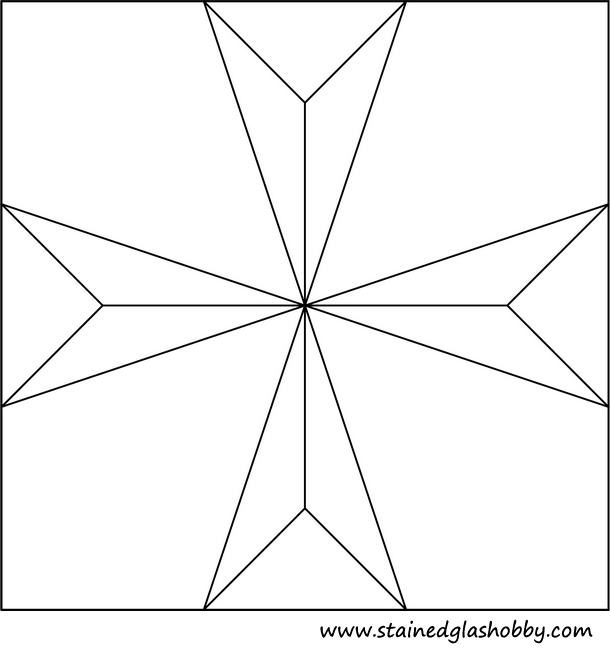 download maltese cross pattern