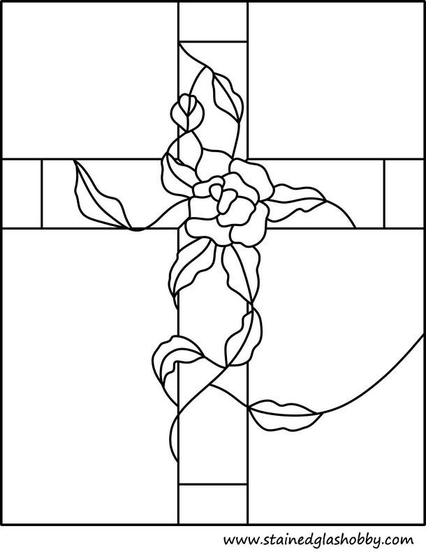 holy cross free pattern