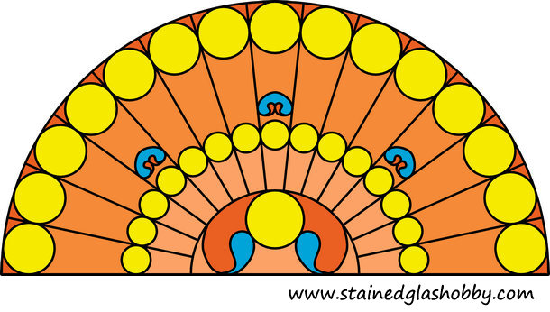 stained glass design