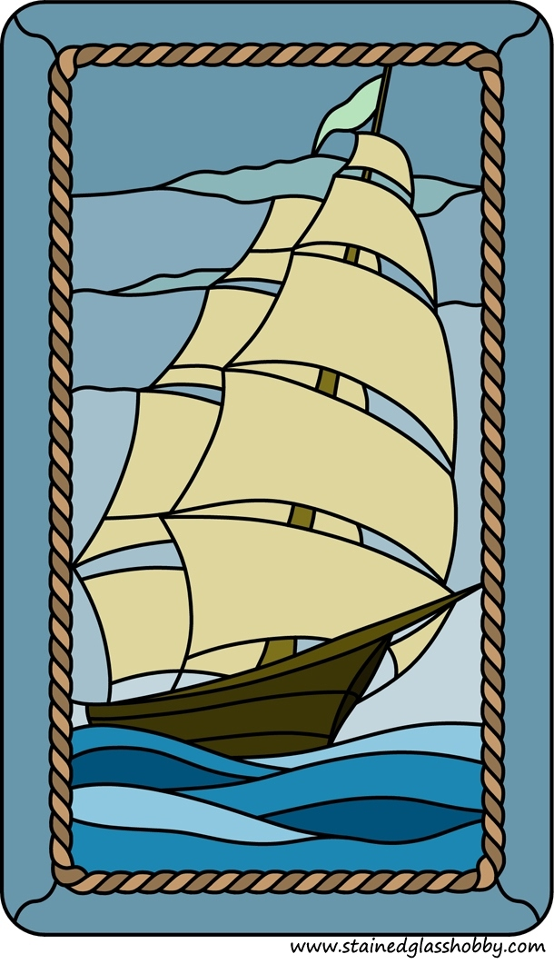 sailboat pattern