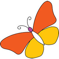 butterfly free design