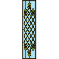 designer free stained glass