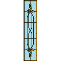 Celt knot stained glass design