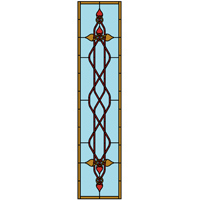 Celtic style stained glass pattern