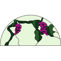 round grapes pattern